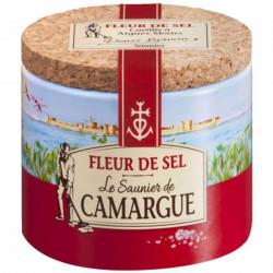 FLEUR DE SEL DE CAMARGUE 125GR LA BOITE