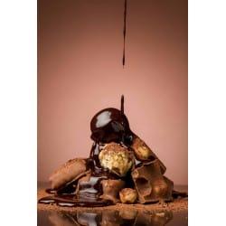 SAUCE DESSERT CHOCOLAT A SERVIR CHAUDE BOITE 3.3KG