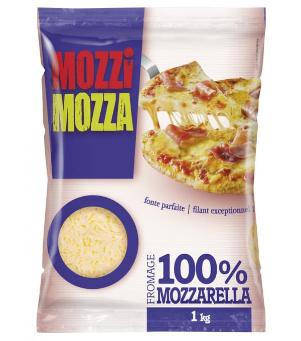 MOZZARELLA RAPEE SACHET 1KG