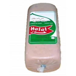 JAMBON DE DINDE HALAL X 3.630KG LA PIECE