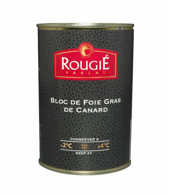 BLOC FOIE GRAS CANARD 30% MX BOITE 400GR FRANCE