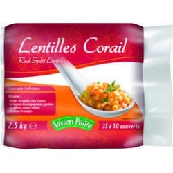 LENTILLES CORAIL ROUGE SAC 2.5KG