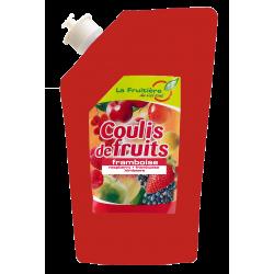 COULIS FRAMBOISE 80% FRUIT POCHE 500GR