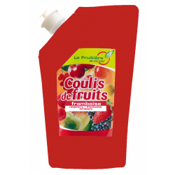 COULIS FRAMBOISE 80% FRUIT POCHE 500GR