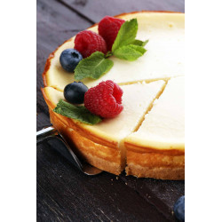 CHEESE CAKE NEW YORK 16 PARTS X 120GR PIECE 1.920 KG CASH ALIMENTAIRE