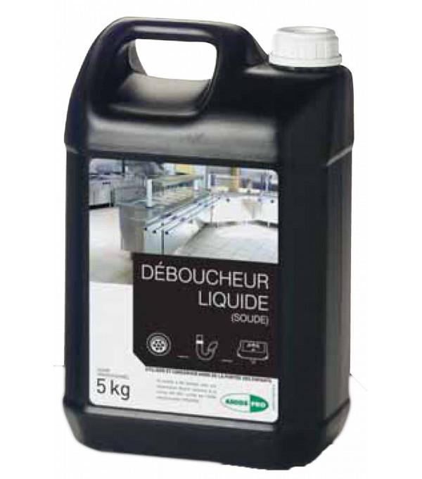 DEBOUCHEUR LIQUIDE (SOUDE) BIDON 5L