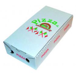 BOITE PIZZA MODELE CALZONE X 100 U. CT DIMENSION 34X 17 X 8