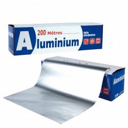 PAPIER ALUMINIUM 200M X 33CM LE RX
