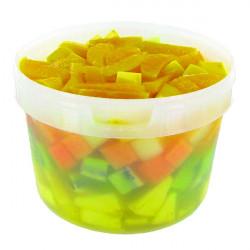 SALADE DE 5 FRUITS COUPE 2CM SEAU 3L