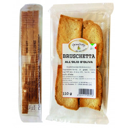 BRUSCHETTE NATURE SACHET 110GR