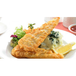 FISH & CHIPS COLIN 100/130GR X 5 KG MALAISIE