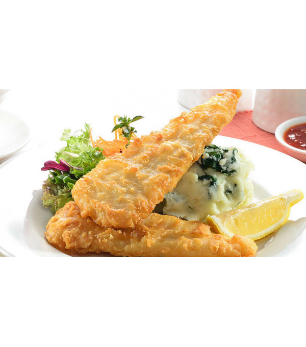 FISH & CHIPS COLIN 100/130GR X 5 KG MALAISIE