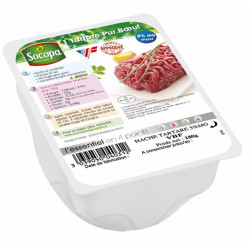 TARTARE BOEUF 180GR S/AT X 8 U. VBF CT