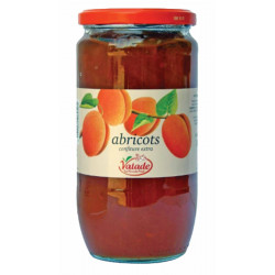 CONFITURE ABRICOT 35% FRUIT BOCAL 1KG
