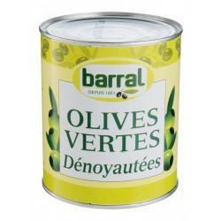 OLIVE VERTE DENOYAUTEE BOITE 4/4