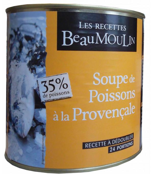 SOUPE DE POISSONS PROVENCALE BOITE 3/1