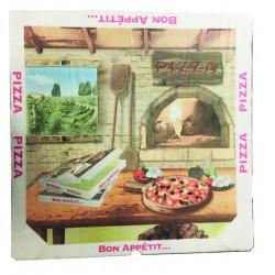 BOITE PIZZA 34.5 X H3CM TREVISO X100U CT