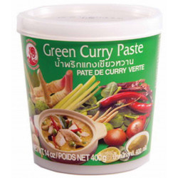 PATE DE CURRY VERTE POT 400GR
