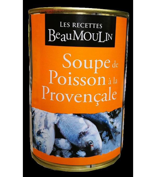 SOUPE DE POISSONS PROVENCALE BOITE 1/2