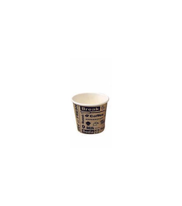 GOBELET CAFE CARTON 4OZ 10CL X 50U LE PT