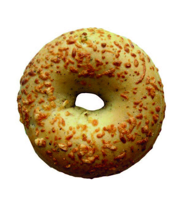 BAGELS CALIFORNIA STYLE FROMAGE/PIMENT 150GR X 32U. LE CARTON