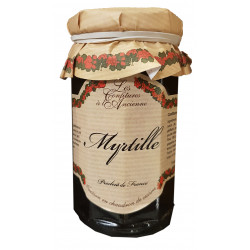 CONFITURE DE MYRTILLE POT 270GR