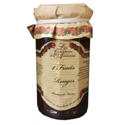 CONFITURE QUATRE FRUITS ROUGES POT 270GR