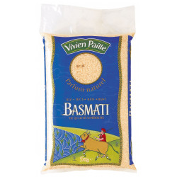 RIZ LONG BASMATI NATUREL Q.S. SAC 5KG
