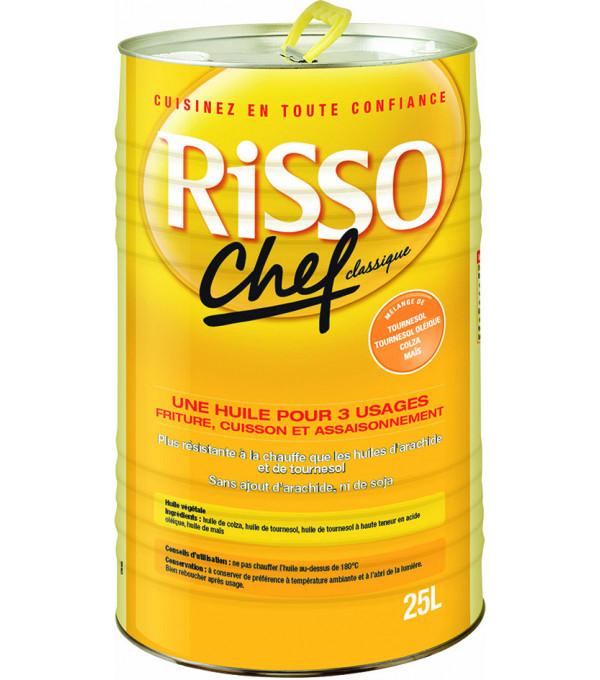 HUILE FRITURE RISSO CHEF BD 25L
