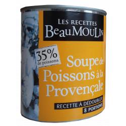 SOUPE DE POISSONS PROVENCALE BOITE 4/4