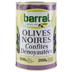 OLIVE NOIRE DENOYAUTEE BOITE 5/1