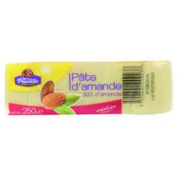 PATE D AMANDE BLANCHE 33%  PAIN 250GR