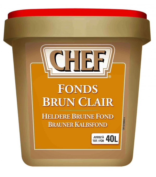 FOND BRUN CLAIR (20-40L) BOITE 800GR