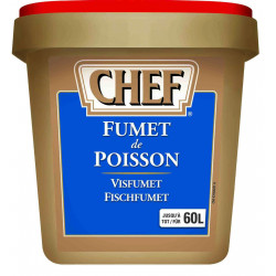 FUMET DE POISSON (36/60L) BOITE 900GR