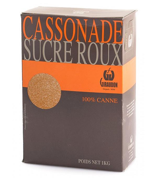 SUCRE CASSONADE BOITE BEC VERSEUR 1KG