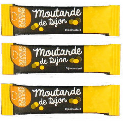 MOUTARDE STICKETS 4GR X 1000 U. LE CT.