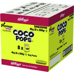 COCO POP'S 500 GRS X 8 LE CARTON