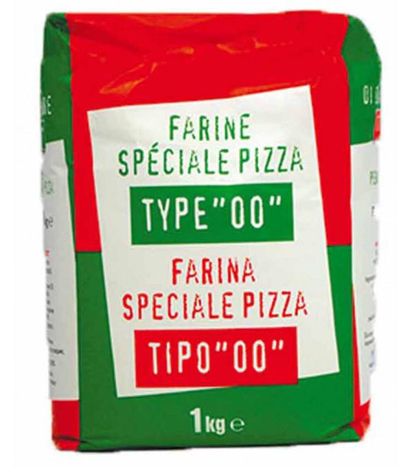 FARINE SPECIALE PIZZA 1KG X 10 U LE CT TYPE 00