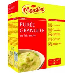 PUREE GRANULEE AU LAIT ENTIER LA BOITE 1.6KG