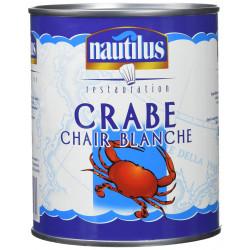 CHAIR DE CRABE BLANCHE 4/4