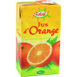 JUS D ORANGE BRICK 1L X 6 U LE CT