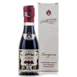 VINAIGRE FRAMBOISE 12 ANS BT 100ML BALSAMIQUE DE MODENA + COFFRET
