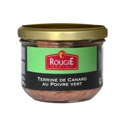 TERRINE DE CANARD AU POIVRE VERT BOCAL 180GR