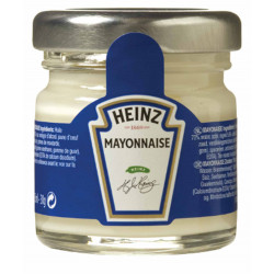 MAYONNAISE POT VERRE 33ML X 80U LE CT