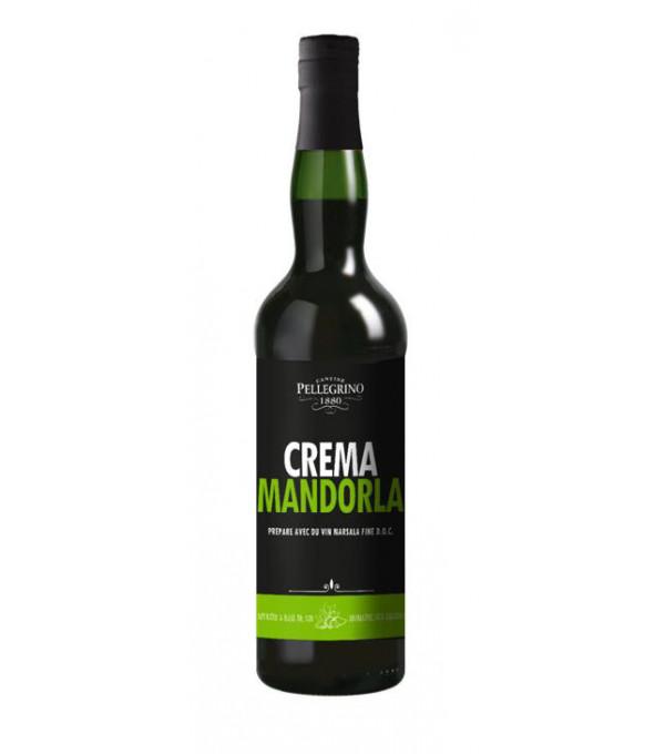 MARSALA CREME D AMANDE 18° BT 75CL REGION DE SICILIA