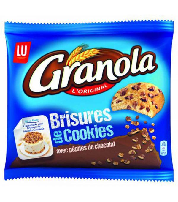 BRISURE DE COOKIES AVEC PEPITES CHOCOLAT SACHET 400GR