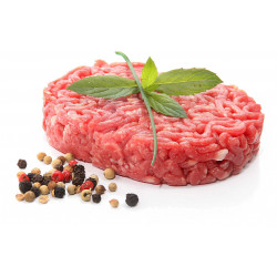 STEAK HACHE DE BOEUF BLACK ANGUS 150GR FACON BOUCHERE X 20 U LE CT