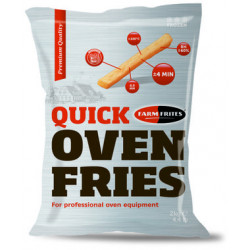FRITE AU FOUR A CUISSON RAPIDE 8.5MM QUICK OVEN FRIES SACHET 2KG