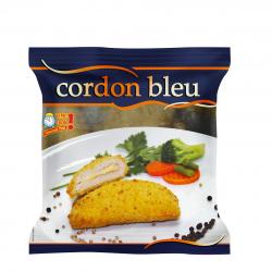 CORDON BLEU DE DINDE CUIT 125GR X 8 U HALAL FRANCE SACHET 1 KG
