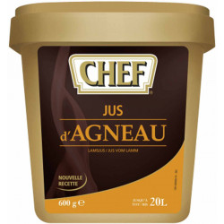 JUS D AGNEAU (20L) BOITE 600GR